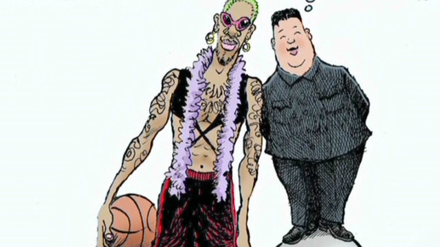 Rodman's bizarre trip to North Korea
