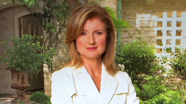 Arianna Huffington on dreaming big