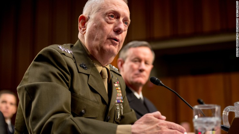 Who is James Mattis?