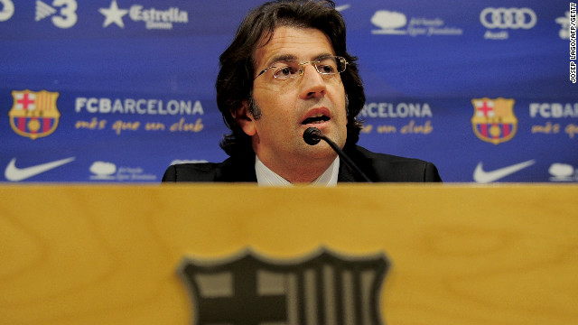 Barcelona spokesman Toni Freixa said the Catalan giants would be investigating the allegations it spied on its own players.