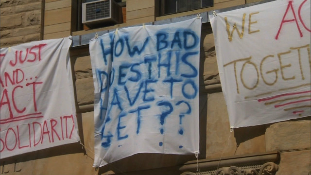 Messages of hate found on Oberlin campus