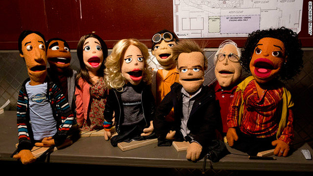 "The cast of ""Community"" will be re-imagined as puppets in an episode set to air this spring."