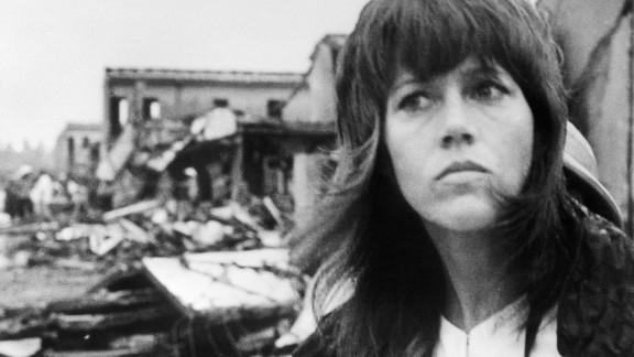 In 1972, actress Jane Fonda visited North Vietnam in protest of the Vietnam War. Fonda
