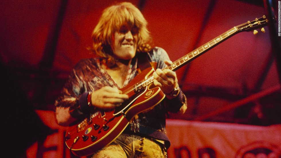 "<a href=""http://www.cnn.com/2013/03/06/showbiz/obit-alvin-lee/index.html"" target=""_blank"">Alvin Lee</a>, the speed-fingered British guitarist who lit up Woodstock with a monumental 11-minute version of his song ""I'm Going Home,"" died on March 6, according to his website. He was 68."