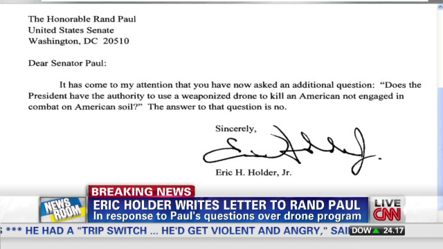 Rand Paul: I'm happy with WH letter