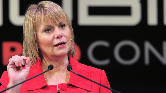 Carol Bartz made $16.2 million in 2011 when she was  president and CEO of Yahoo. Bartz was fired from Yahoo in September 2011.
