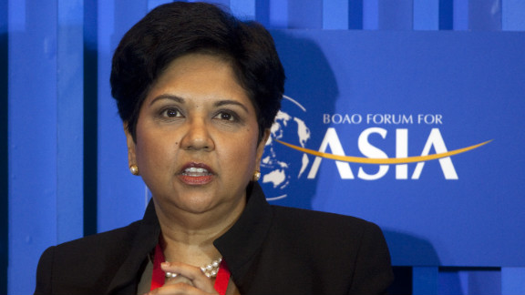 Indra Nooyi made $14.1 million as chairman and CEO of PepsiCo in 2011.  To see more of the highest paid women in business check out CNNMoney's list.