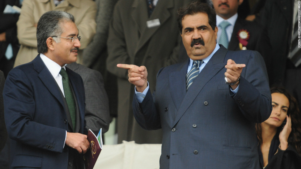 Some of the biggest race horse investors hail from Qatar, including its ruling Emir, Sheikh Hamad bin Khalifa Al Thani (right). Last year, Qatar Racing bought the world's most expensive yearling at auction, stumping up a whopping $4 million for a 19-month-old colt called Hydrogen.