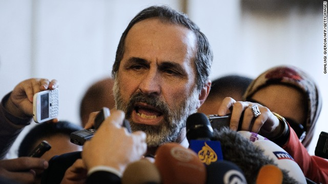 Leadership shakeup in Syrian opposition?