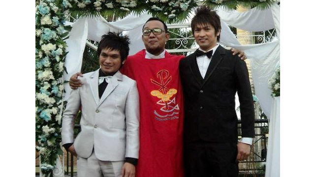 Rev. Ceejay Agbayani has performed about 200 same-sex marriages. Such weddings are illegal in the Philippines.