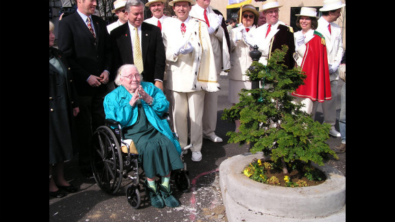 The park was reopened on March 16, 2007, in true St. Patrick