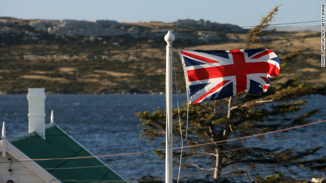 Status with UK up for vote in Falklands