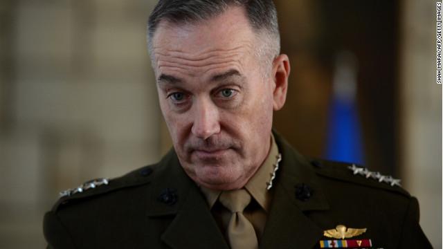 obama to tap gen joseph dunford to top military post cnnpolitics