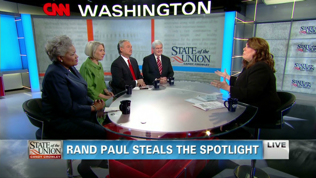Rand Paul steals the spotlight