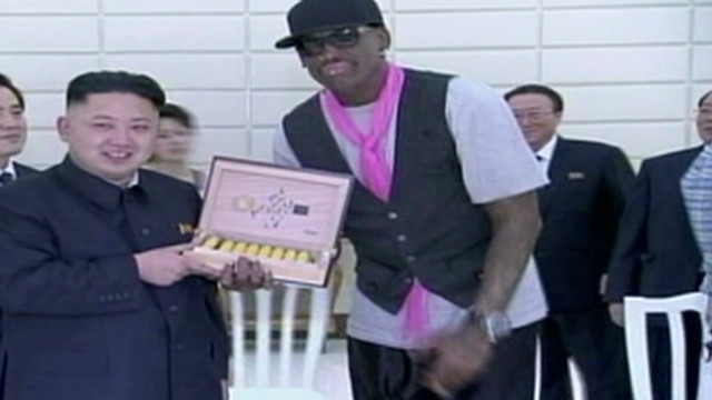 Rodman: Kim Jong Un's 'my friend'