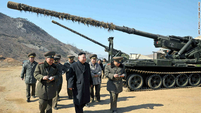 Kim Jong Un: Break enemies' waists