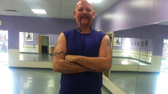 After starting Big John's Dance Fitness, Drury lost almost 100 pounds.