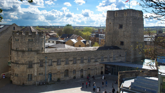 Oxford Castle and the Saxon St. George