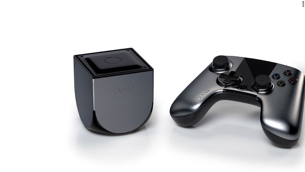 <strong>Ouya: $8.6 <strong></strong>million<strong></strong> pledged of $950,000 goal, 63,416 backers</strong> -- Ouya, which runs on  Android, is a $99 gaming console that requires developers to offer a version of their games for free.
