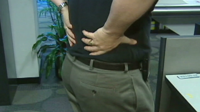 Some back pain can be avoided