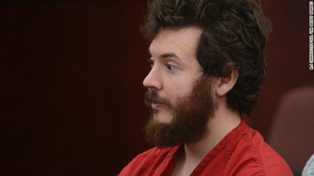 Not guilty plea for James Holmes