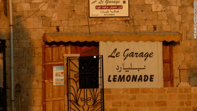 Lemonade from The Garage in Batroun