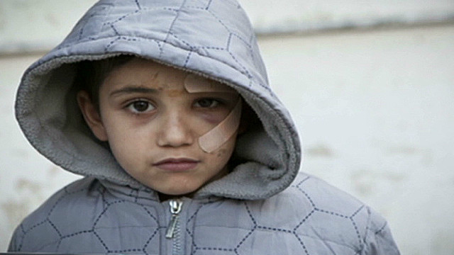 Children trapped in Syria conflict