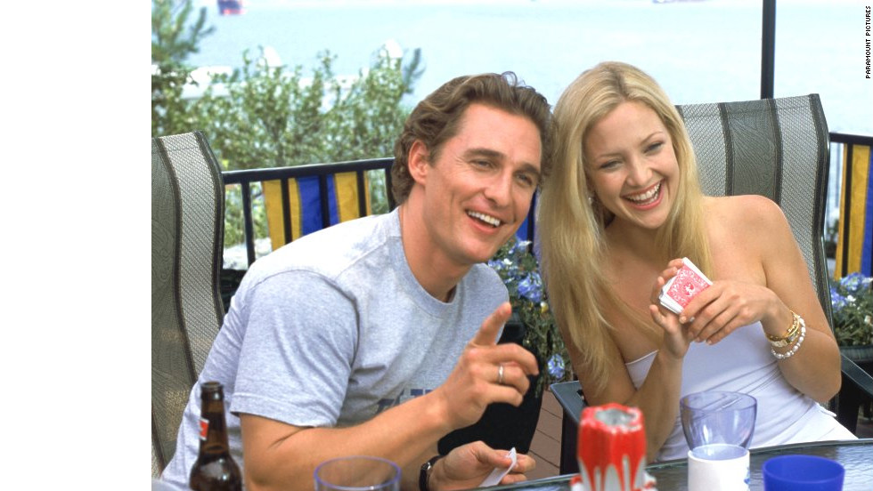 "Kate Hudson and Matthew McConaughey first teamed up in 2003 for ""How to Lose a Guy in 10 Days."" Five years later, the on-screen lovers reunited for ""Fool's Gold,"" once again starring as a somewhat dysfunctional couple. But as in any good romantic comedy, the two find themselves back together in the end."