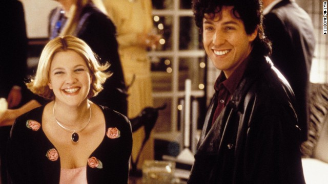 "Drew Barrymore and Adam Sandler have starred in a few movies together including ""The Wedding Singer"" in 1998."