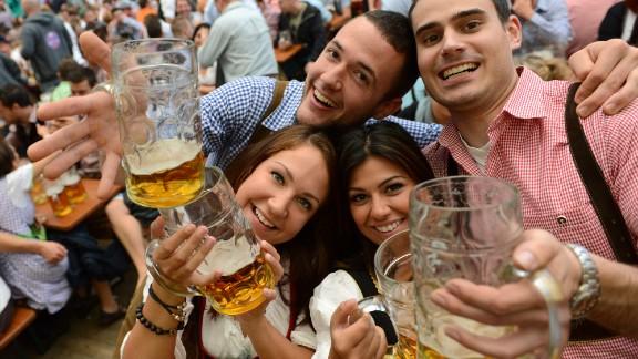 Oktoberfest, Bavaria's month-long answer to St Patrick's day.