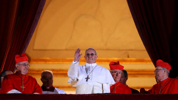 Francis, formerly known as Argentine Cardinal Jorge Mario Bergoglio, was elected the Roman Catholic Church