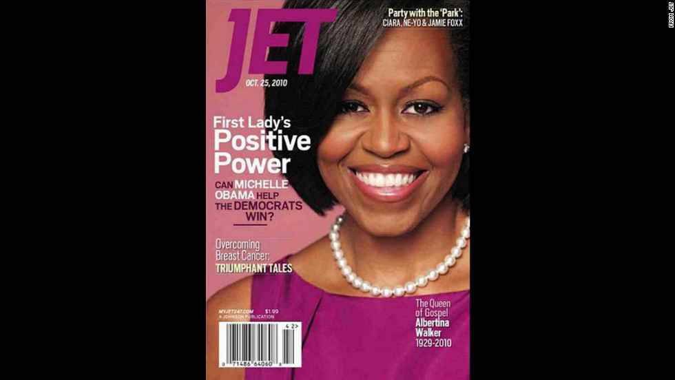 Obama on the cover of Jet.