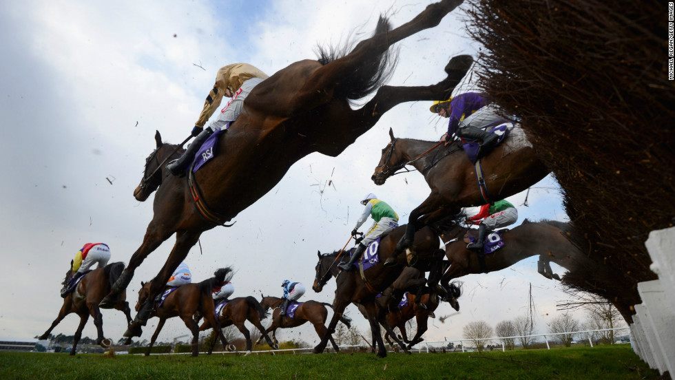 "McManus is a big player at Britain's Cheltenham Festival. More than $820 million is bet during the four-day meet, second only to the Grand National race. ""It's known as the Olympics of jumps racing, with the very best horses from across Europe competing,"" Orr says."