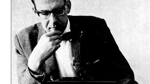 Maarten Schmidt, pictured in the 1960s, discovered quasars and revealed the discovery to the public in 1963.
