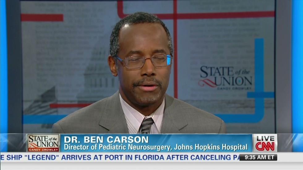 Opinion: Ben Carson, admirable man with a mistaken philosophy - CNN
