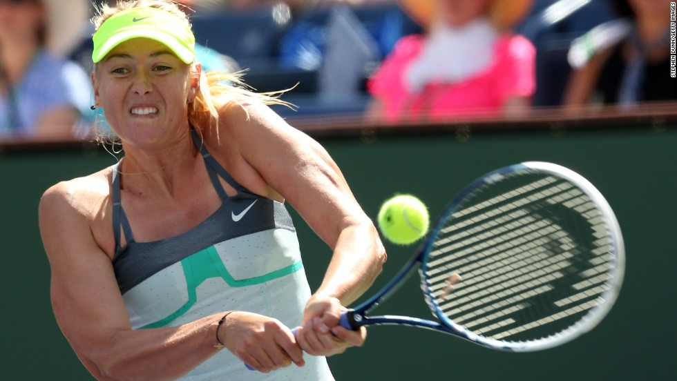 The World No.3 held a 4-2 record against Wozniacki and never looked like losing as she reeled off three straight games to take the second set 6-2.