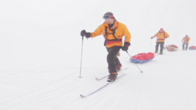 Antarctic race for soldier rehabilitation