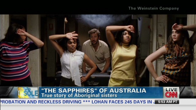 'The Sapphires' sing out on big screen