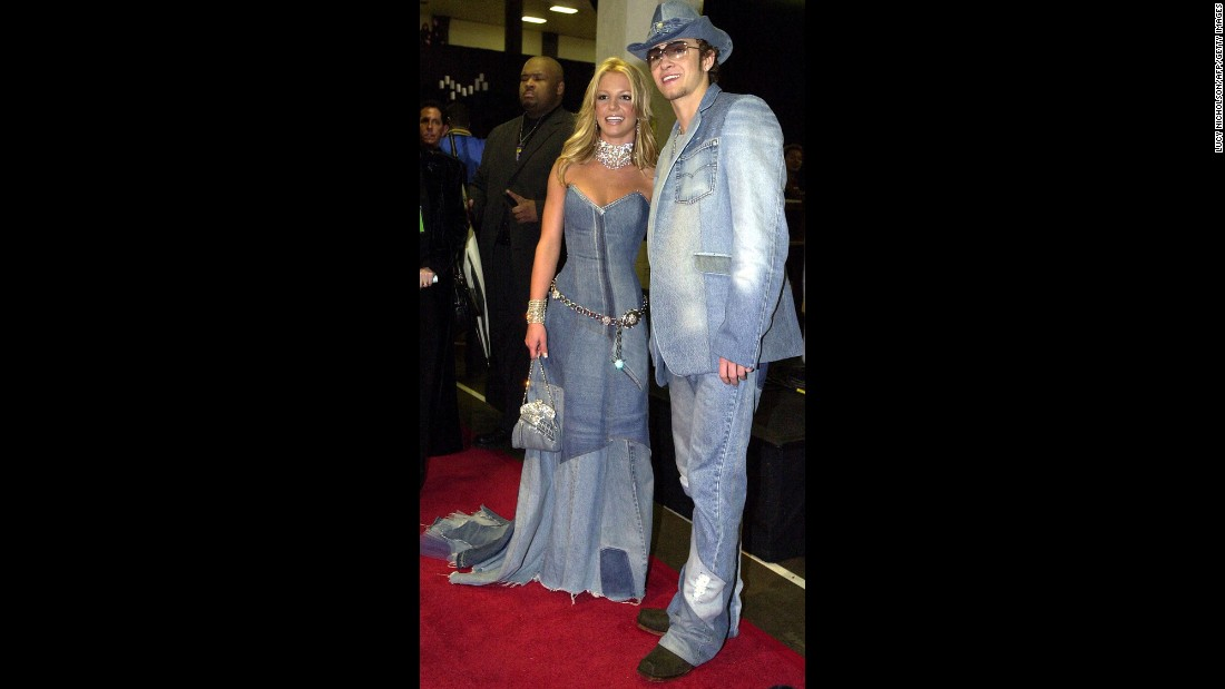"In 2001, every teenager with access to MTV and Teen People wanted to find the Britney Spears to their Justin Timberlake (or vice versa). With those two ruling pop music, not even their questionable fashion could mar the public's love for their romance. Sadly, matching denim outfits wasn't enough to make this last: The couple broke up in 2002, and many listeners believe Timberlake's ""Cry Me a River"" is about his relationship with Spears."