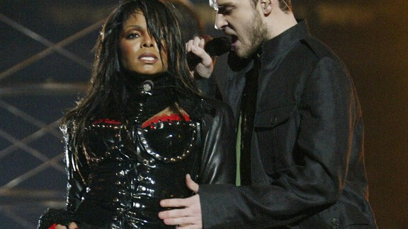 That little move in 2004 during Super Bowl XXXVIII where Justin Timberlake tore off a piece of Janet Jackson's outfit did not go over well with the world or the censors.