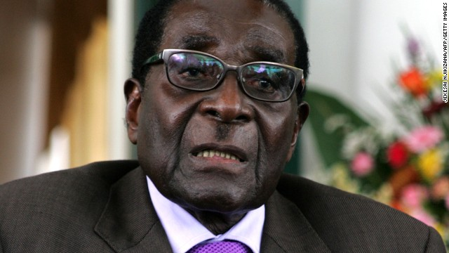 Zimbabwe's President Robert Mugabe, shown at the State House in Harare on January 17, has been in power for decades.