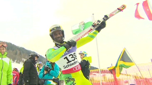 Jamaican skier's Olympic dream