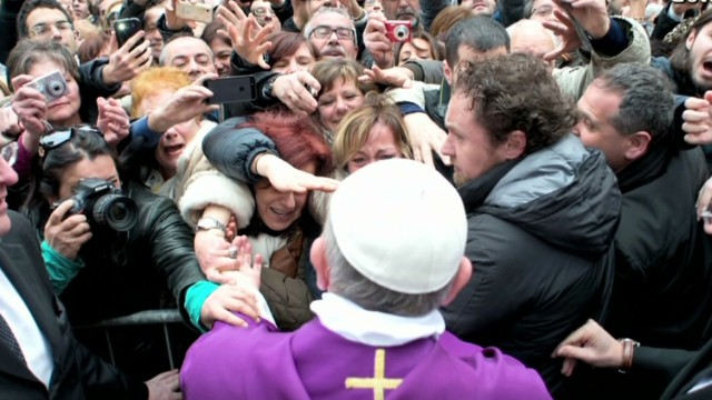 Spontaneous pope raises security concerns
