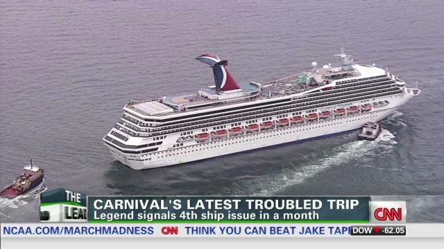 Carnival Triumph Breaks Loose From Repair Berth For Several Hours - Carnival cruise ship that broke down