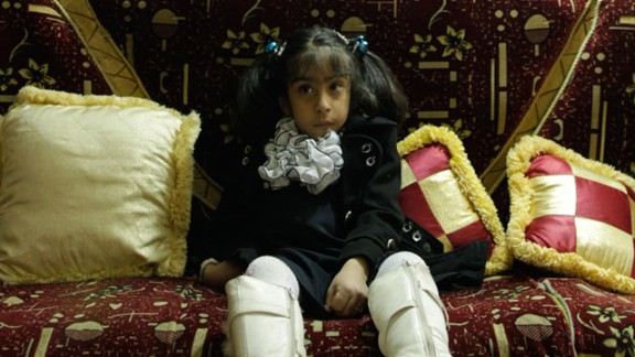 Sometimes, a sadness blankets Noor's face. She has grown into a frail girl who rarely smiles.