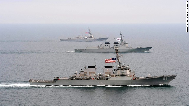 U.S. responds to N. Korea with warships