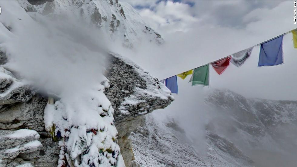 Google Maps climbs world's tallest mountains - CNN on