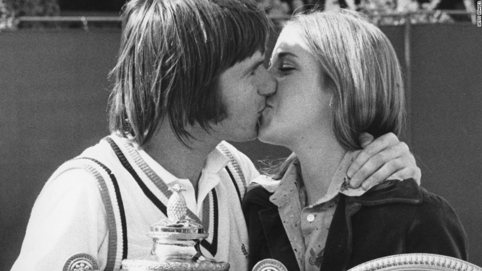 American lovebirds Jimmy Connors and Chris Evert won both singles titles at Wimbledon in 1974 and were engaged, but by the time the grass-court grand slam came around in 1975 the wedding was off. Decades after splitting from the eight-time grand slam champion, Evert swapped the tennis court for the golf course...