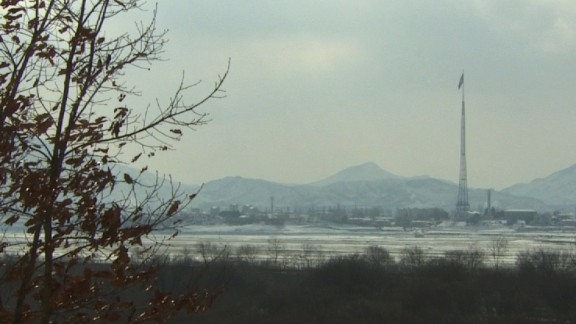 The village of Kijongdong is located on the North