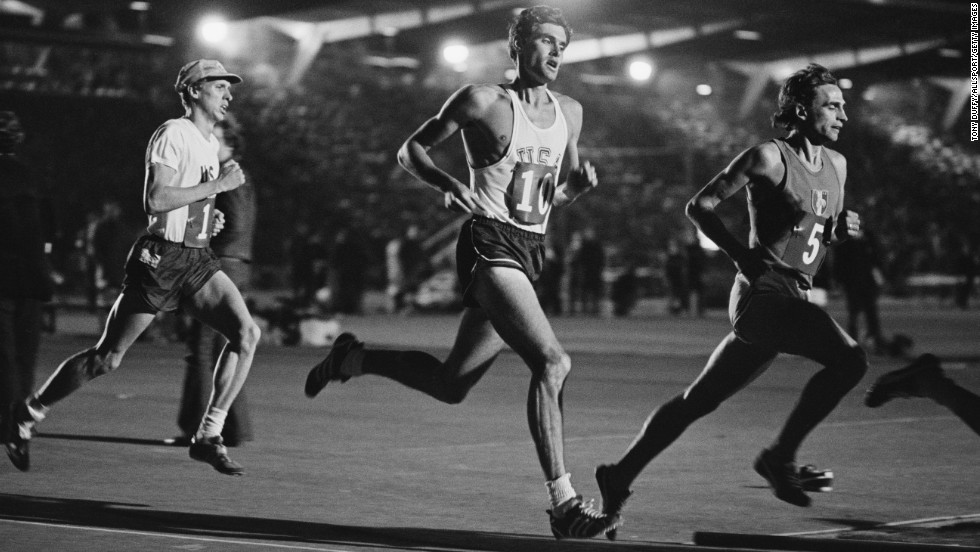 Former U.S. Rep. Jim Ryun of Kansas participated in three Olympics, earning a silver medal in the 1,500-meter run at the 1968 games. Ryun held a number of world records and was the last American to hold the world record in the mile. He served in Congress from 1996 to 2007.
